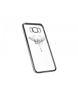 Devia Iris Silver - Samsung Galaxy S8 Plus Carcasa Silicon (Cristale Swarovski®)