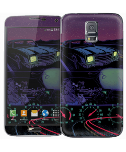 Night Ride - Samsung Galaxy S5 Skin
