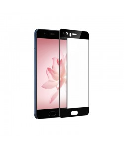 Folie Devia Frame Sticla Temperata Black (1 fata Anti-Shock, 9H, 2.5D, 0.26mm) - Huawei P10