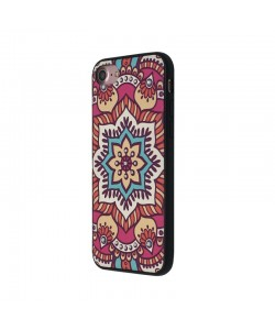 Occa Artist Lotus Mandala - iPhone 7 / iPhone 8 Carcasa PC (3D print cu cristale)