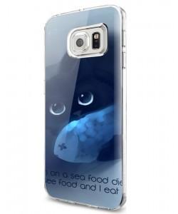 Sea Food - Samsung Galaxy S7 Carcasa Silicon