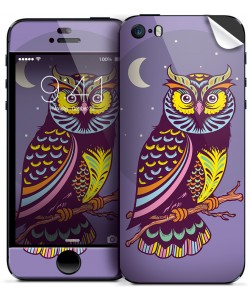 Purple Nights - iPhone 5C Skin