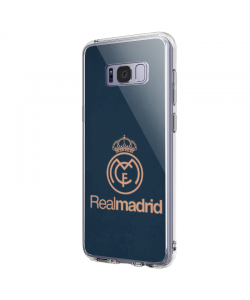 Real Madrid - Samsung Galaxy S8 Plus Carcasa Transparenta Silicon