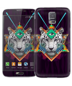 Eyes of the Tiger - Samsung Galaxy S5 Skin