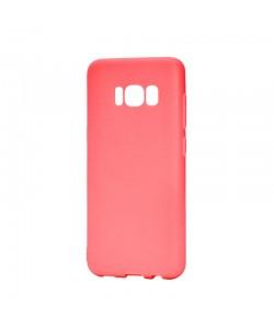 Procell Silky - Samsung Galaxy S8 Carcasa Silicon Rosu
