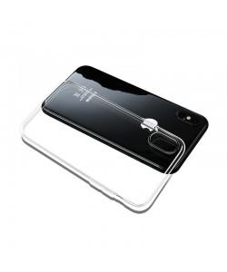 Mcdodo Crystal Jacket Clear - iPhone X Carcasa Silicon Soft Slim