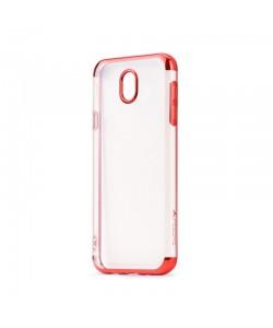 Meleovo Flash Soft II Red - Samsung Galaxy J5 (2017) Carcasa Silicon