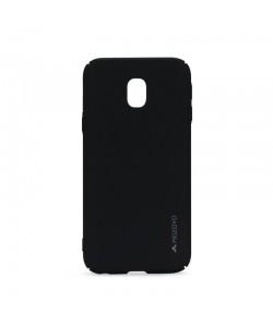 Meleovo Metallic 360 Black - Samsung Galaxy J5 (2017) Carcasa Slim PC (culoare metalizata fina)