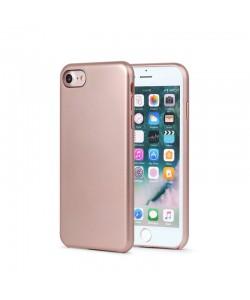 Meleovo Pure Gear II Rose Gold - iPhone 8 Carcasa (culoare metalizata fina, interior piele intoarsa)
