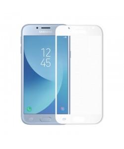 Folie Meleovo Sticla Full Cover White (2.5D, 9H, oleophobic) - Samsung Galaxy J5 (2017)