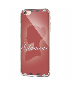 Glamour - iPhone 6 Carcasa Transparenta Silicon