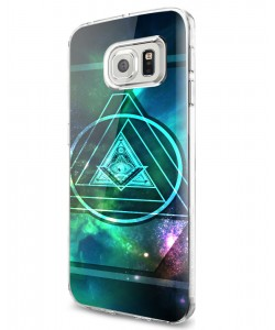 Triangle Galaxy 2 - Samsung Galaxy S7 Edge Carcasa Silicon
