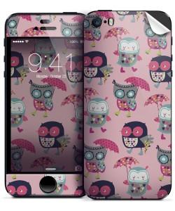 Pastel Owls - iPhone 5C Skin