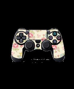 Pastel Flowers Wallpaper - PS4 Dualshock Controller Skin