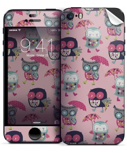 Pastel Owls - iPhone 5/5S Skin