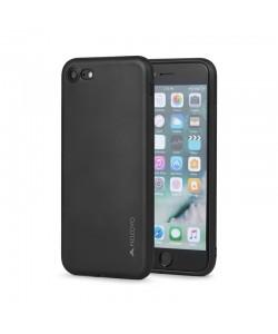 Meleovo Soft Slim - iPhone 7 / iPhone 8 Carcasa Neagra (aspect mat)