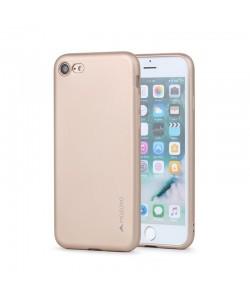 Meleovo Soft Slim - iPhone 7 / iPhone 8 Carcasa Aurie (aspect mat)