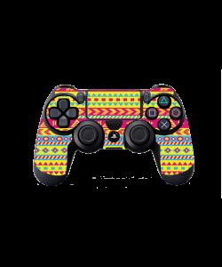 Yellow Frenzy - PS4 Dualshock Controller Skin