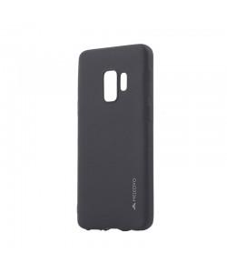 Meleovo Black - Samsung Galaxy S9 Carcasa Silicon Soft Slim (aspect mat)
