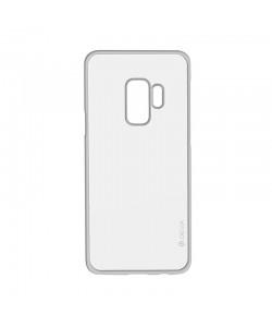 Devia Glitter Soft Silver - Samsung Galaxy S9 Plus Carcasa Silicon