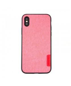 Meleovo Knit Pink - iPhone X Carcasa PC