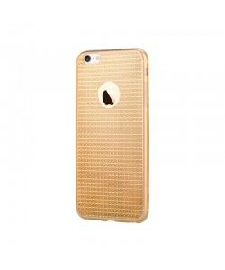 Devia Sparkle Crystal Champagne - iPhone 6/6S Carcasa Silicon