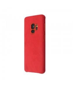 Just Must Origin Fiber Red - Samsung Galaxy S9 Carcasa Plastic