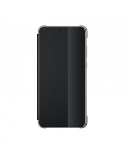 Huawei View Cover Black - Huawei P20 Husa Book Neagra