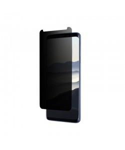 Folie Eiger Sticla 3D Privacy Clear (0.33mm, 9H, case friendly, curved, oleophobic) - Samsung Galaxy S9 Plus