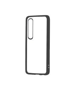 Devia Pure Style Black - Huawei P20 Pro Carcasa (antishock, spate dur si margini mate si flexibile)