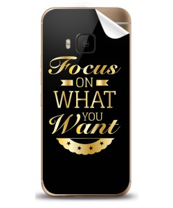 Focus - HTC One M9 Skin