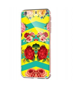 Tread Softly - iPhone 6 Carcasa Transparenta Silicon