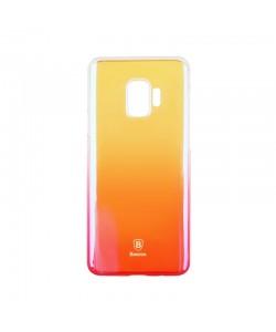 Baseus Glaze Transparent Pink - Samsung Galaxy S9 Carcasa Transparenta