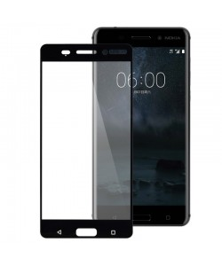 Folie Lemontti Sticla Full Fit Black (1 fata, 9H, 2.5D, 0.33mm) - Nokia 6.1 (Nokia 6 2018)