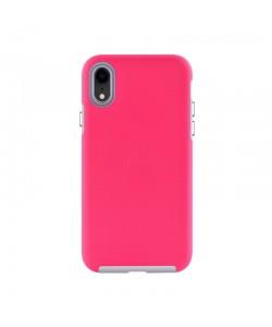 Devia KimKong Rose Red - iPhone XR Carcasa PC (antishock, din doua bucati)