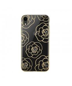 Devia Camellia Gold - iPhone XR Carcasa Policarbonat