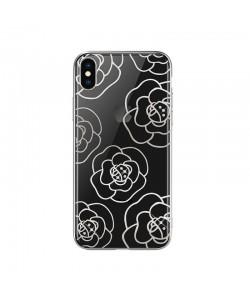 Devia Camellia Silver - iPhone XS Max Carcasa Policarbonat
