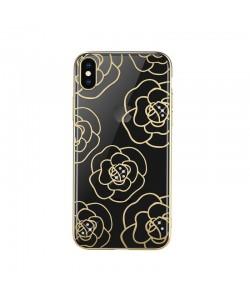 Devia Camellia Gold - iPhone XS Max Carcasa Policarbonat