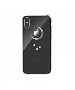 Devia Meteor Silver - iPhone XS / X Carcasa Policarbonat