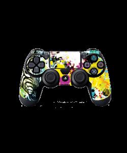 Zebra Splash - PS4 Dualshock Controller Skin