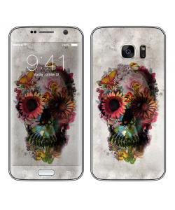Spring skull - Samsung Galaxy S7 Edge Skin
