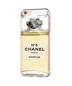 Chanel No. 5 Perfume - iPhone 6 Carcasa Transparenta Silicon