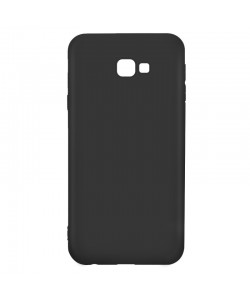Just Must Candy Black - Samsung Galaxy J4 Plus Carcasa Silicon Negru
