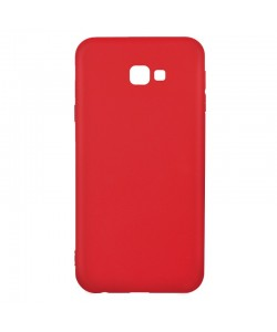 Just Must Candy Red - Samsung Galaxy J4 Plus Carcasa Silicon Rosu