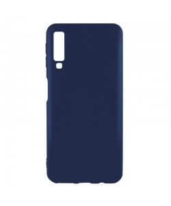 Just Must Candy Navy - Samsung Galaxy A7 (2018) Carcasa Silicon Albastru Inchis