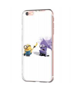 Banana Minion - iPhone 6 Carcasa Transparenta Silicon