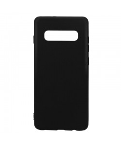 Just Must Candy Black - Samsung Galaxy S10 Carcasa Silicon