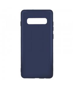 Lemontti Silky - Samsung Galaxy S10 Carcasa Silicon Albastru Inchis