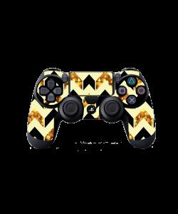 Black & Gold - PS4 Dualshock Controller Skin