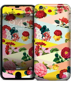 Flowers, Stripes & Dots - iPhone 6 Skin